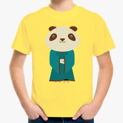 Детская футболка Панда в кимоно