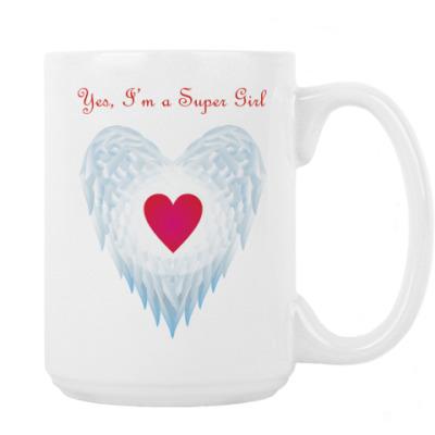 Yes, I'm a Super Girl. Крылья