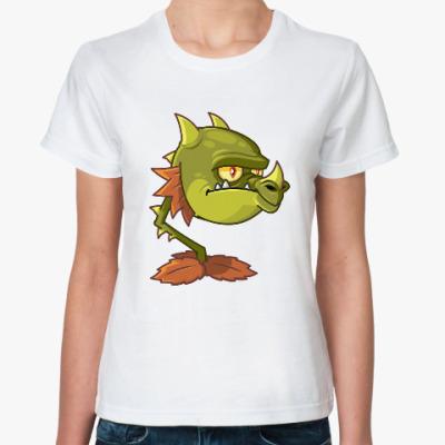 Классическая футболка Plants vs Zombies
