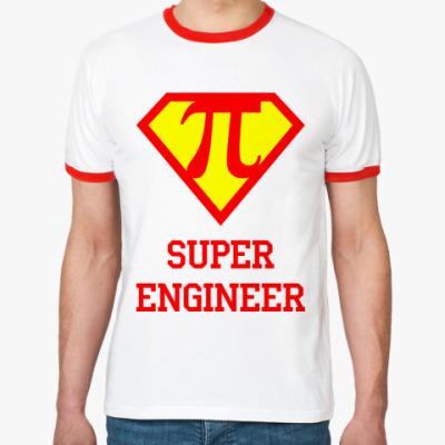 Футболка Ringer-T Superengineer 3