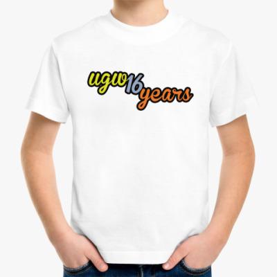 Детская футболка 16 лет UGW