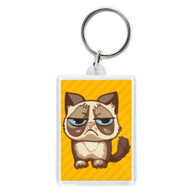 Брелок Угрюмый кот Тард - Grumpy Cat