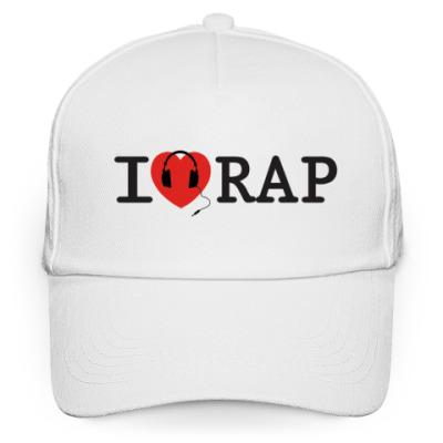 Кепка бейсболка Кепка I Love Rap