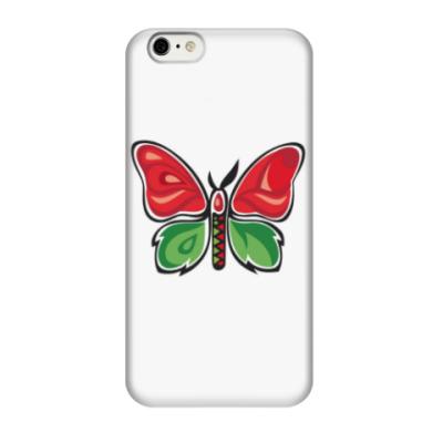 Чехол для iPhone 6/6s Бабочка-Метаморфоза