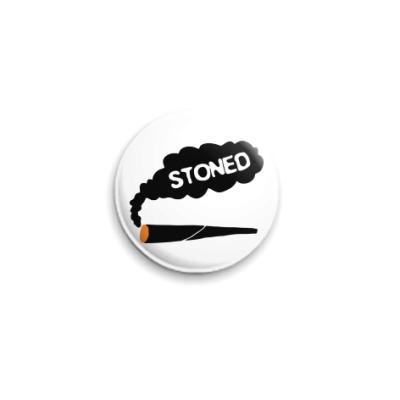 Значок 25мм stoned