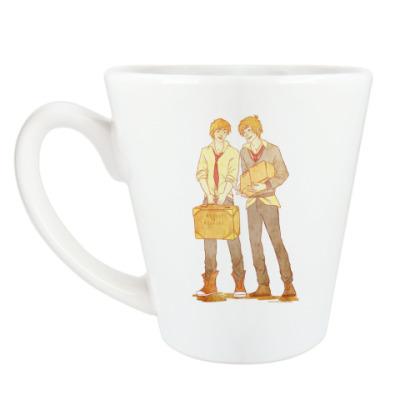 Чашка Латте Братья Уизли