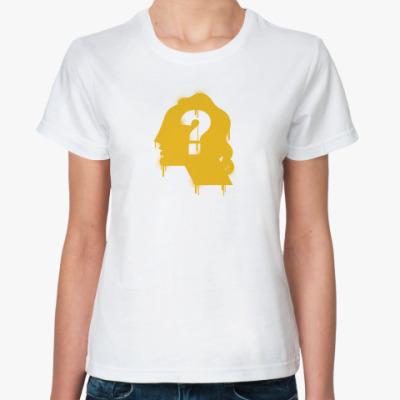 Классическая футболка вопрос