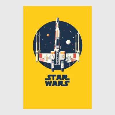 Постер Star Wars VII Пробуждение силы