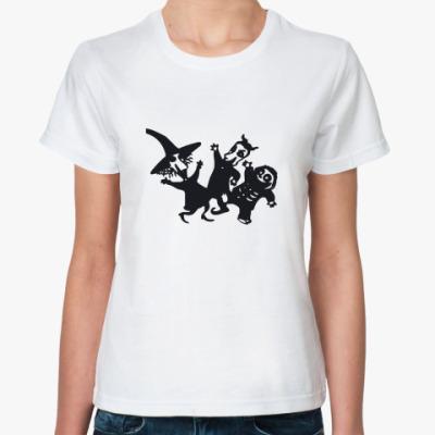 Классическая футболка Skellington Bats