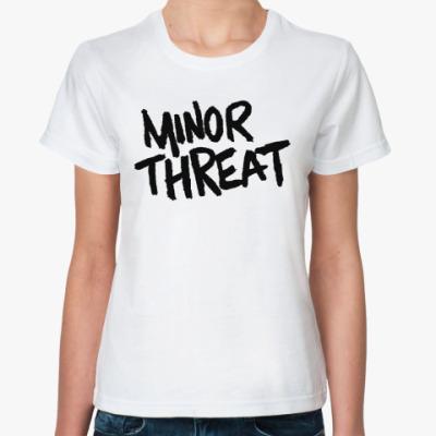 Классическая футболка  Minor Threat