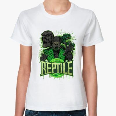 Классическая футболка Reptile