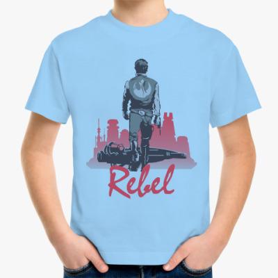 Детская футболка Хан Соло rebel