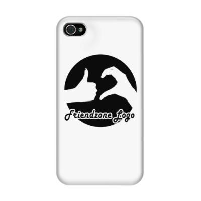 Чехол для iPhone 4/4s Friendzone logo