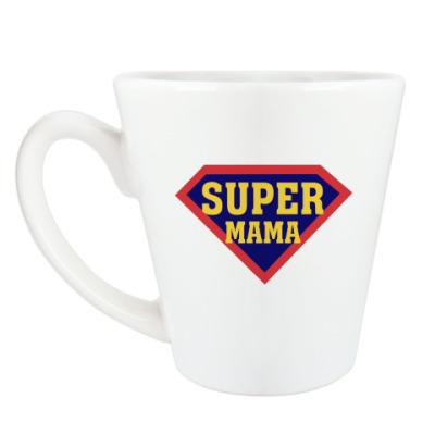 Чашка Латте Супер мама