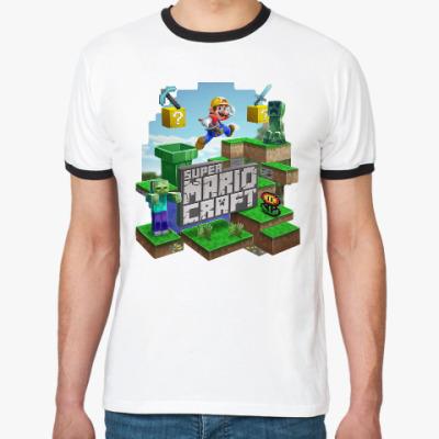 Футболка Ringer-T Super Mario Craft