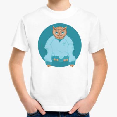 Детская футболка Animal Fashion: O is for Owl