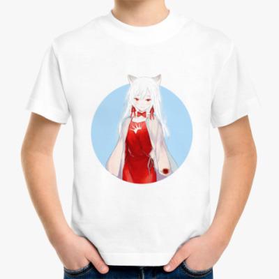 Детская футболка Неко аниме