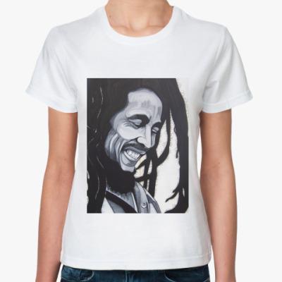 Классическая футболка bob marley
