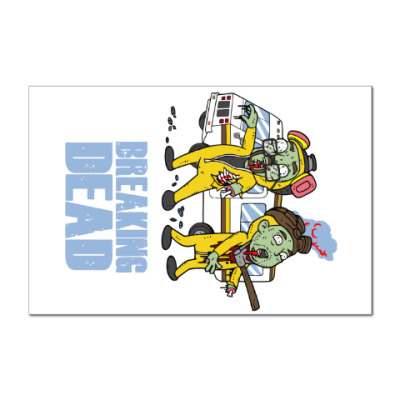 Наклейка (стикер) Breaking Dead