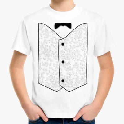 Детская футболка Жилет м.7