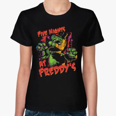 Женская футболка Пять ночей у Фредди