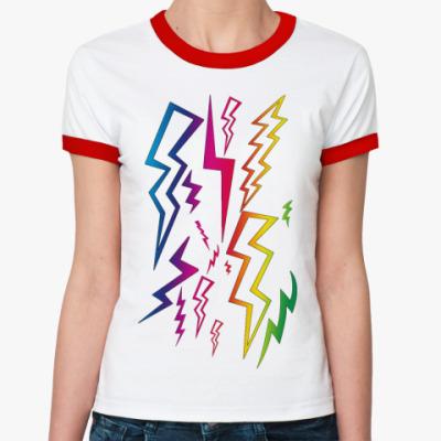Женская футболка Ringer-T Light