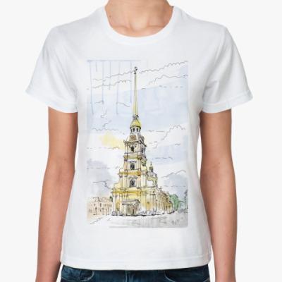 Классическая футболка Петропавловская крепость