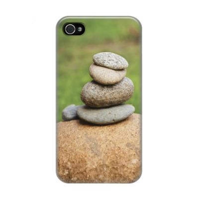 Чехол для iPhone 4/4s Природа, камни