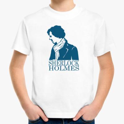 Детская футболка Шерлок Холмс