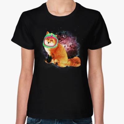 Женская футболка CosmoFox