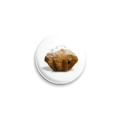 Значок 25мм Кекс