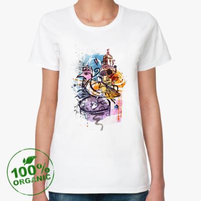 Женская футболка из органик-хлопка Рисунок