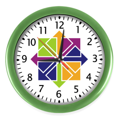 Настенные часы CentOS