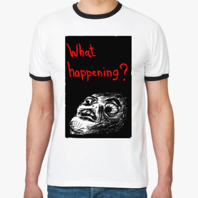 Футболка Ringer-T What happening?