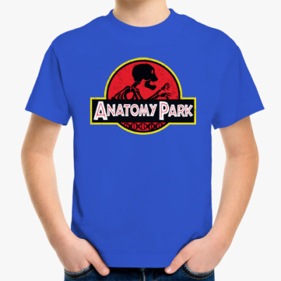 Детская футболка Anatomy Park