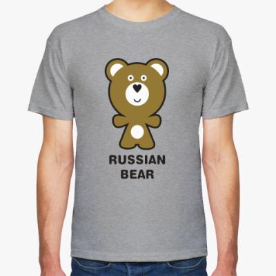 Футболка RUSSIAN BEAR