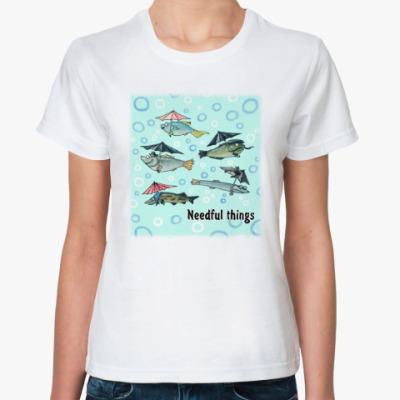 Классическая футболка Нужные вещи
