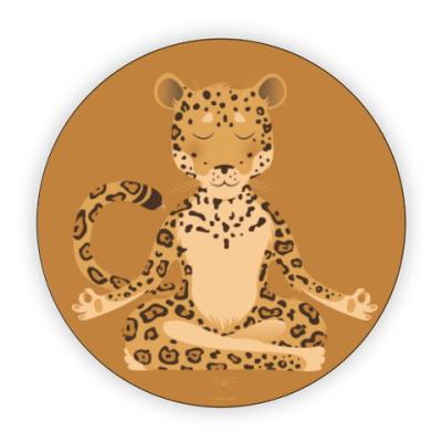 Костер (подставка под кружку) Animal Zen: J is for Jaguar