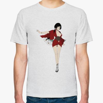 Футболка samurai girl (девушка самурай)
