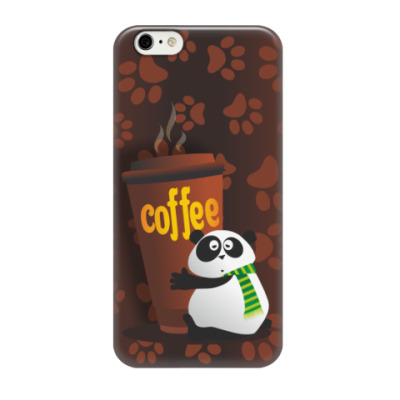 Чехол для iPhone 6/6s Заспанная Панда