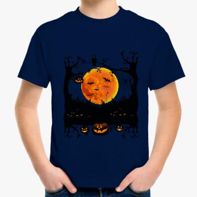 Детская футболка Хеллоуин. Зловещая ночь