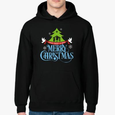 Толстовка худи Рождество. Новый год.