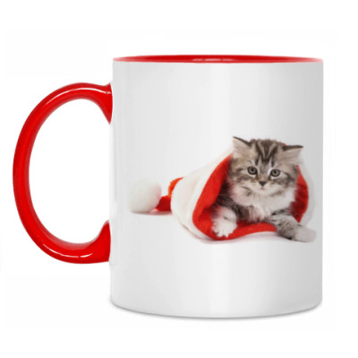 Кружка Новогодние котята