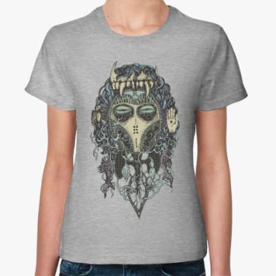 Женская футболка Totemia Mask