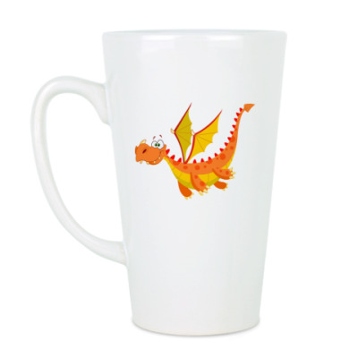 Чашка Латте Дракон