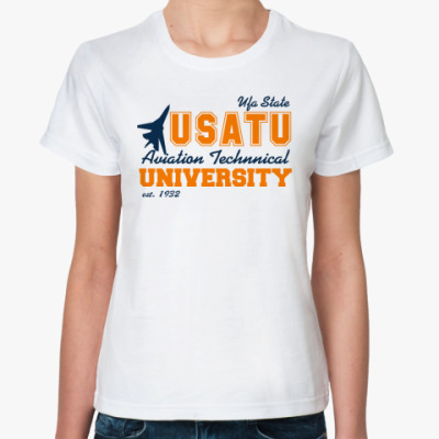 Классическая футболка УГАТУ