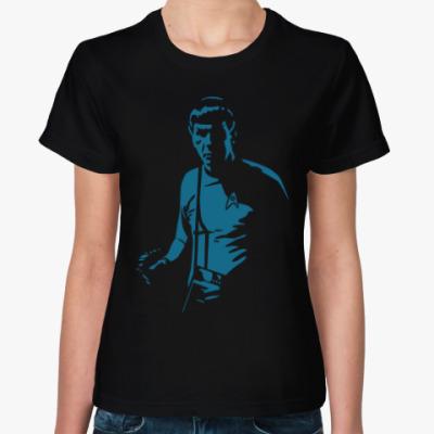Женская футболка Spock