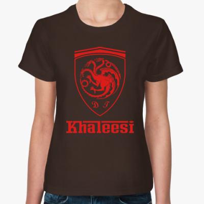 Женская футболка Khaleesi Ferrari