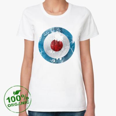 Женская футболка из органик-хлопка Royal Air Force UK