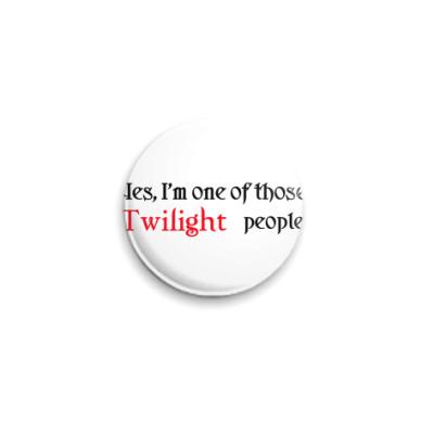 Значок 25мм  Twilight people